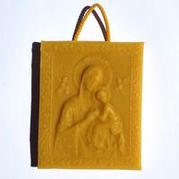 Tableau Vierge à l'Enfant.