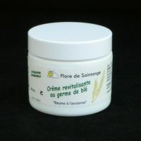 CREME REVITALISANTE au germe de blé 60ml Bio