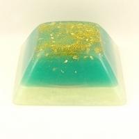 Orgonite petite Pyramide inca Turquoise