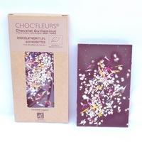 CHOCOLAT BIO NOIR 71.5% AUX NOISETTES