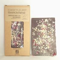CHOCOLAT BIO NOIR 71.5% AUX AMANDES