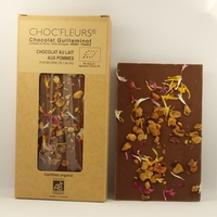 CHOCOLAT BIO AU LAIT AUX POMMES