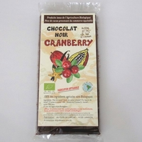 CHOCOLAT NOIR BIO CRANBERRY