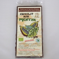CHOCOLAT NOIR BIO MENTHE