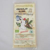 CHOCOLAT BIO BLANC NOIX DE COCO