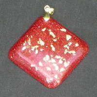 ORGONITE Losange Rouge