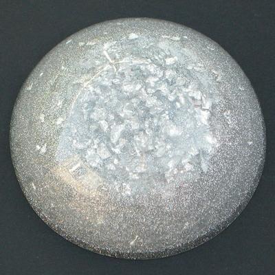 339-orgonite-grand-dome-gris-argent