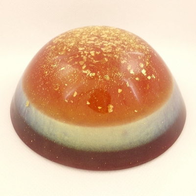 ORGONITE-GRAND-DÔME-Orange