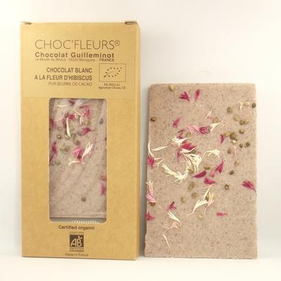 Chocolat-bio-blanc-à-la-fleur-d'hibiscus