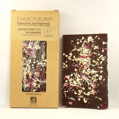 Chocolat-bio-noir-71,5%-aux-amandes