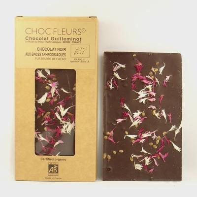 Chocolat-bio-noir-aux-épices-aphrodisiaques