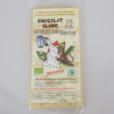 Chocolat-blanc-Bio-Noix de coco