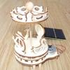 Maquette Mini Manège solaire en bois