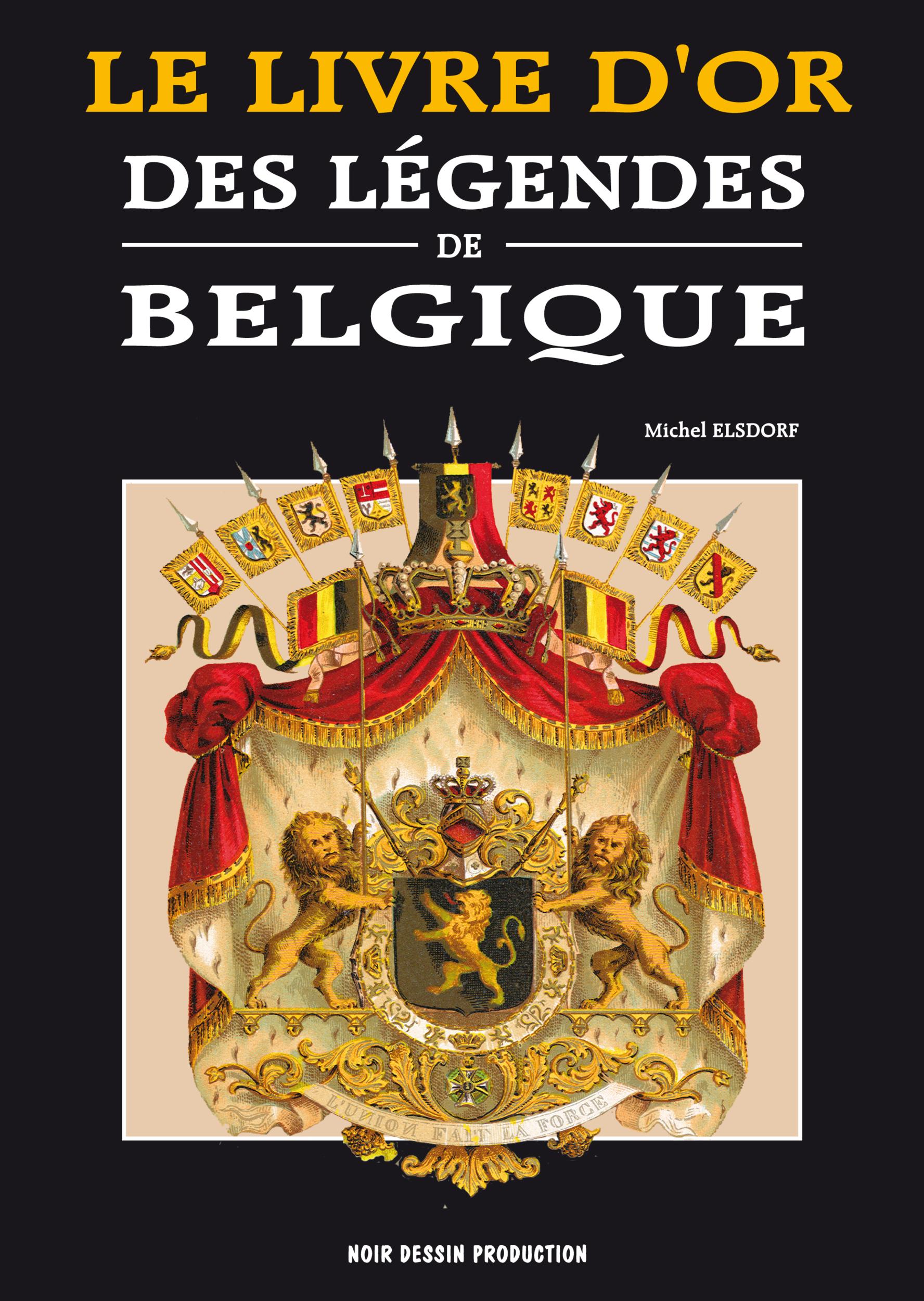 cover legendes de belgique