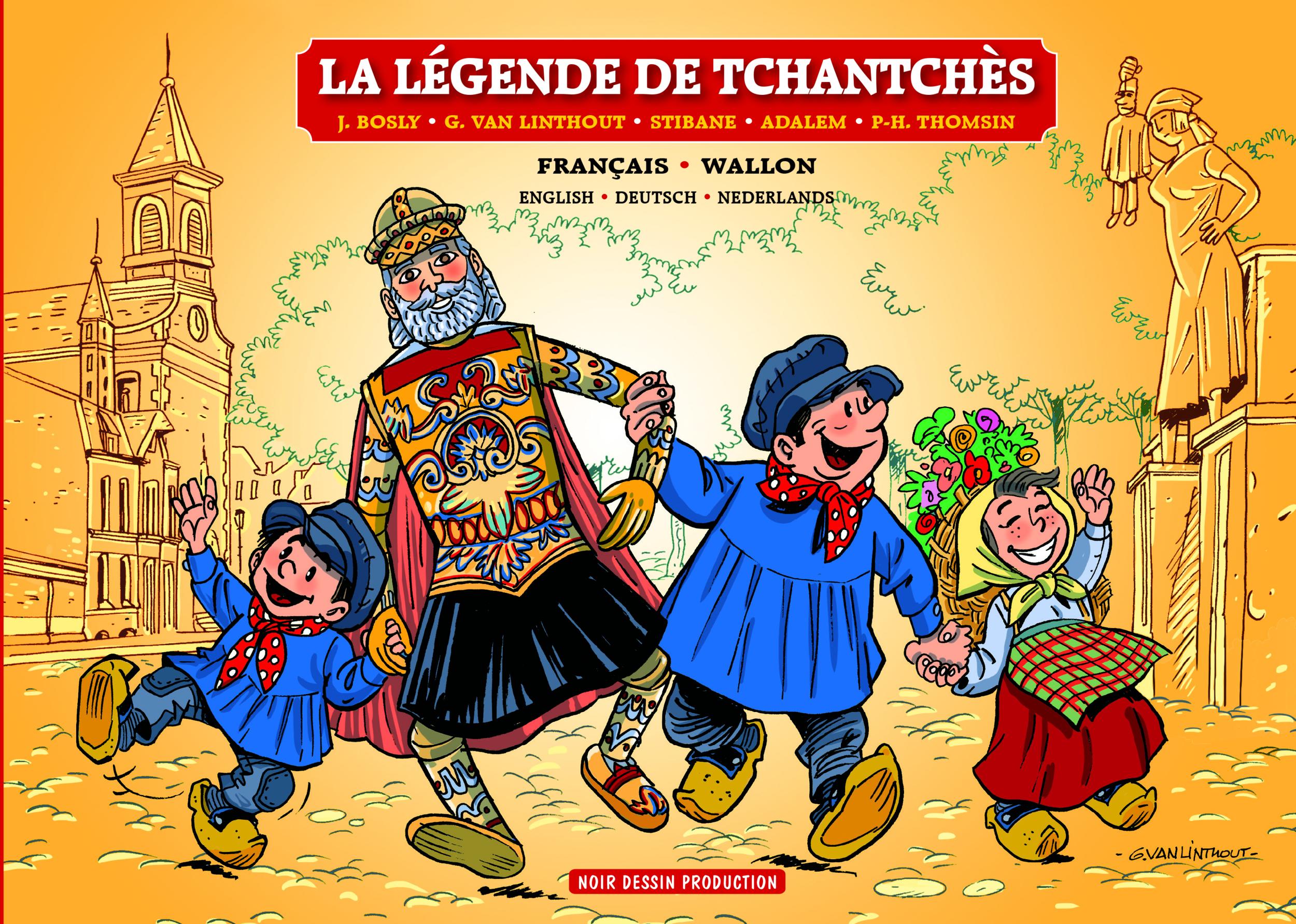 COVER LEGENDE TCHANTCHES