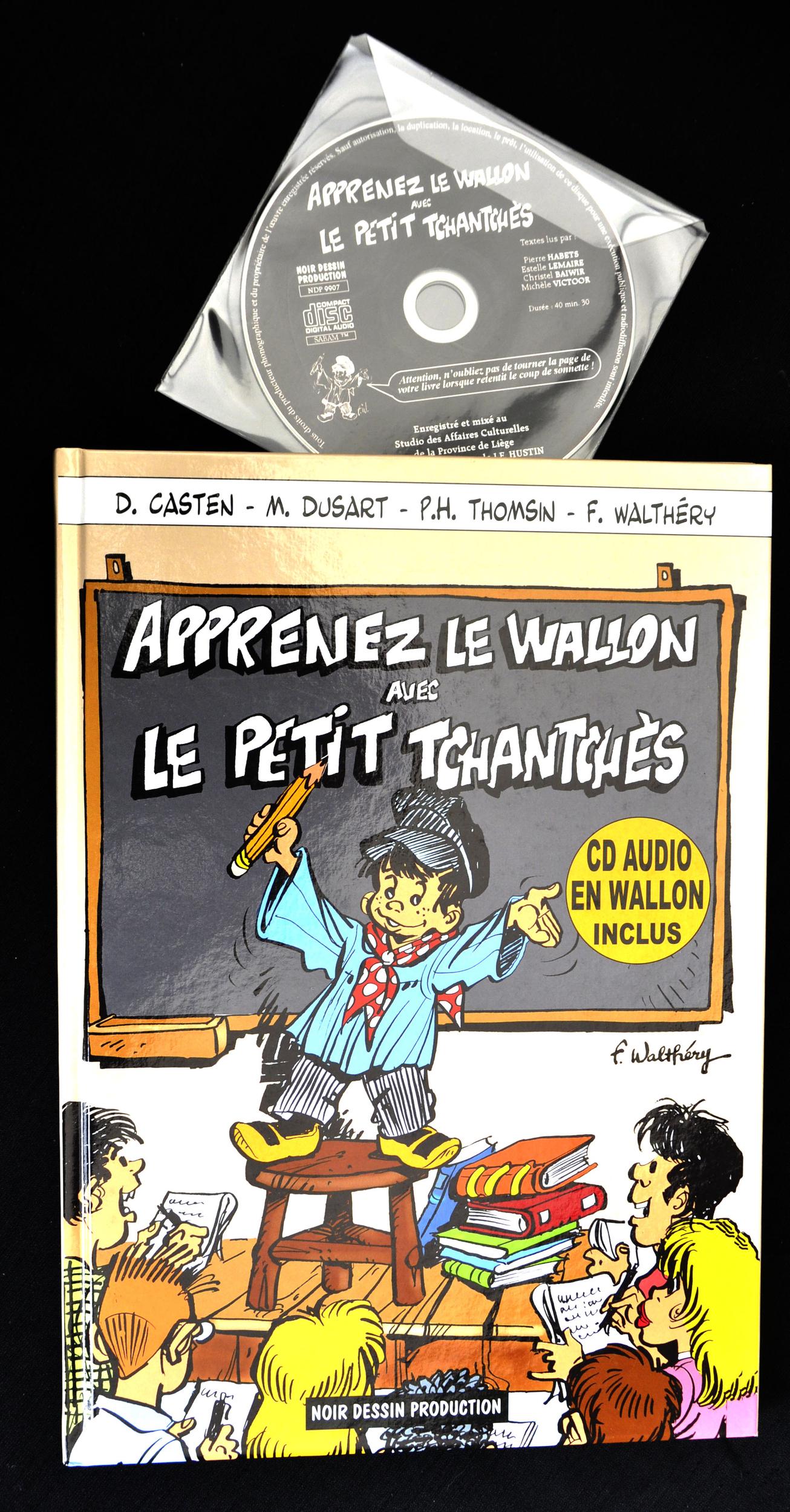 wallon liégeois +cd-30€-épuisé
