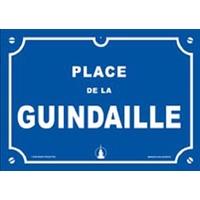 Plaque humoristique - Guindaille-