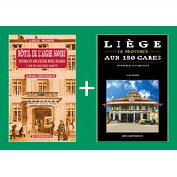 PACK PROMO NOËL - Hôtel de l'Aigle noire + Liège, la province aux 180 gares
