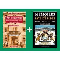 PACK PROMO NOËL - Hôtel de l'Aigle noire + Mémoires du Pays de Liège