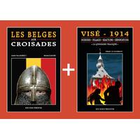 PACK PROMO NOËL - Belges aux croisades + Visé 1914