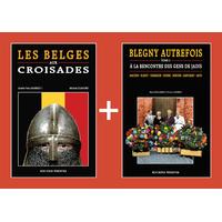 PACK PROMO NOËL - Belges aux croisades + Blegny autrefois  2