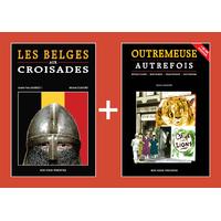 PACK PROMO NOËL - Belges aux croisades + Outremeuse autrefois