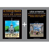 PACK PROMO NOËL - Tour de France + Liège autrefois amercoeur