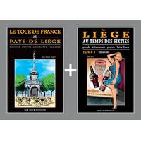 PACK PROMO NOËL - Tour de France + Liège au temps des Sixties 2