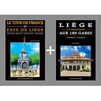PACK PROMO NOËL - Tour de France + Liège aux 180 gares