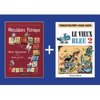 PACK PROMO NOËL - Abécédaire + Vieux bleu 2 Fr