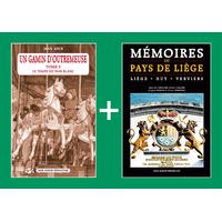 PACK PROMO NOËL - Un gamin d'Outremeuse T.3 + Mémoires du Pays de Liège