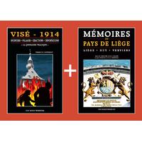 PACK PROMO NOËL - Visé 14-18 + Mémoires du Pays de Liège