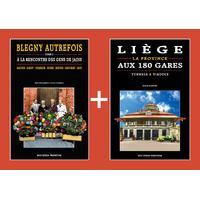 PACK PROMO NOËL - Blegny autrefois 2 + Liège aux 180 gares