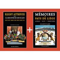 PACK PROMO NOËL - Blegny autrefois 2 + Mémoires du Pays de Liège