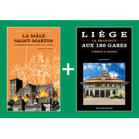 PACK PROMO NOËL - La mâle Saint-Martin + Liège aux 180 gares