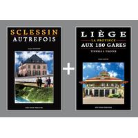 PACK PROMO NOËL - Sclessin autrefois + Liège aux 180 gares