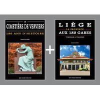 PACK PROMO NOËL - Cimetière de Verviers + Liège aux 180 gares