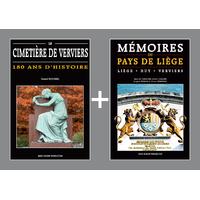 PACK PROMO NOËL - Cimetière de Verviers + Mémoires du Pays de Liège