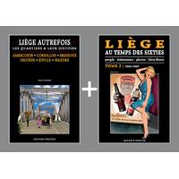 PACK PROMO NOËL - Liège autrefois + Liège au temps des Sixties 2