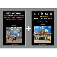 PACK PROMO NOËL - Liège autrefois + Liège aux 180 gares