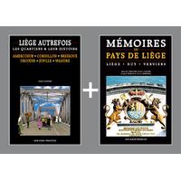 PACK PROMO NOËL - Liège autrefois + Mémoires du Pays de Liège