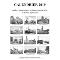 Calendrier 2019 - Charbonnages-