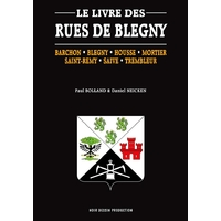 Le livre des rues de Blegny