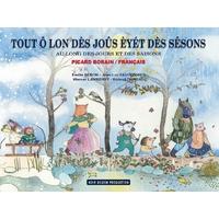 Au long des jours et des saisons Picard/Borain - Français