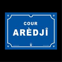 Plaque aredji