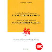 Li calendriyer walon en wallon-français