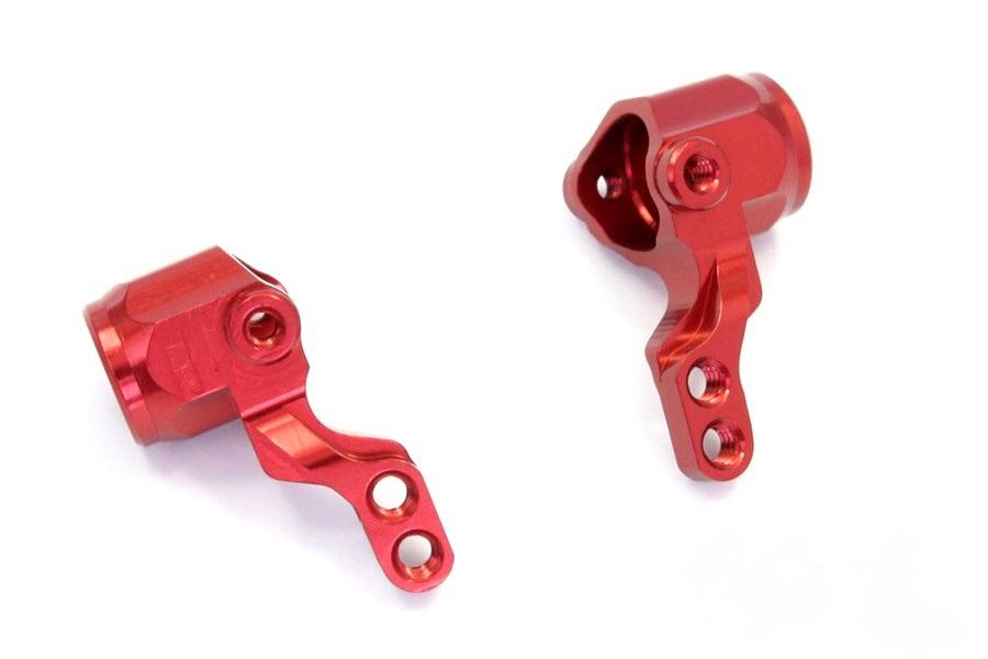 Fusée avant en alu rouge (2) Mini-Z buggy