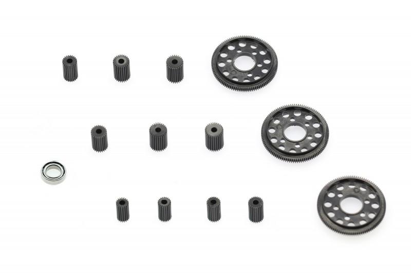 X-Power Kit Pignons / Couronne 126 Pitch  Mr02 Mr03