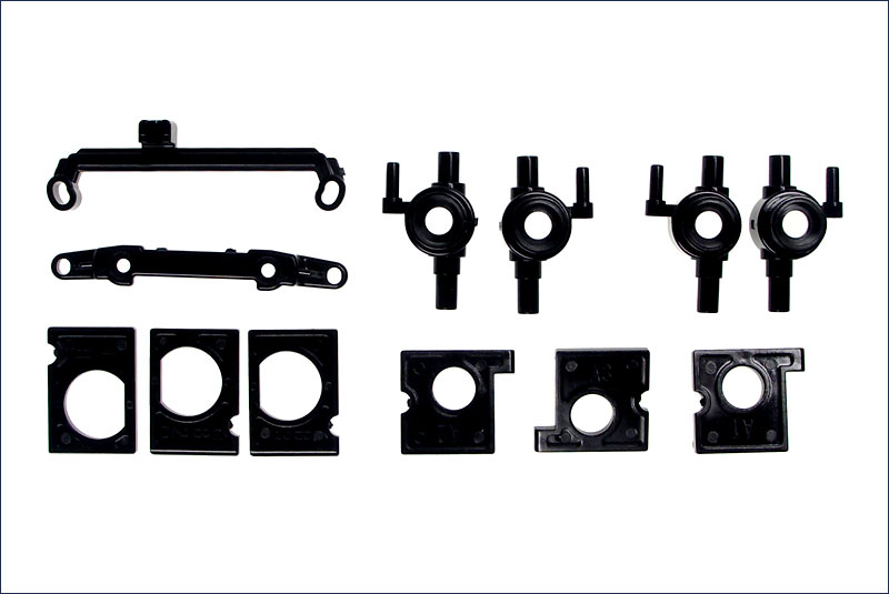 KYOSHO SUPPORT MOTEUR/FUSEES MINI-Z AWD, MD004