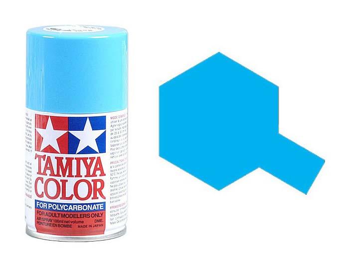 TAMIYA PS03 Bleu Clair Bombe peinture Lexan